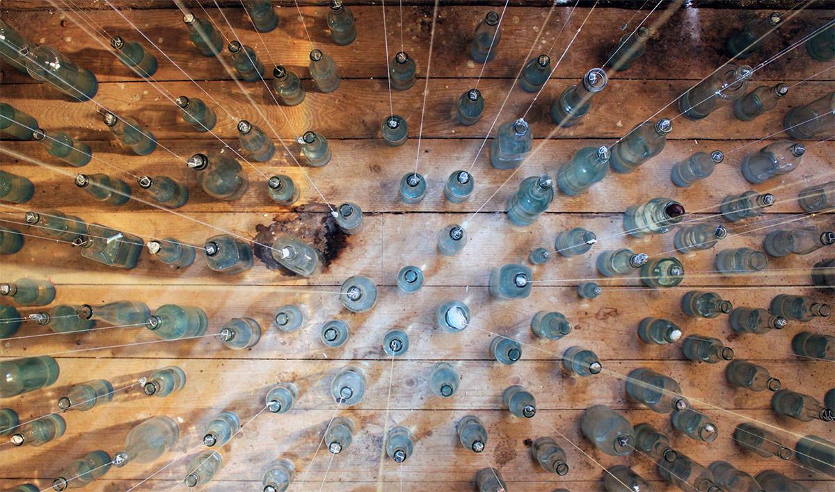 Anni Foglert rumslig installation